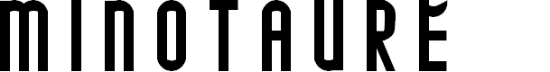 Preview image for MINOTAURE Font