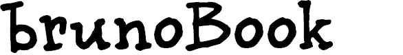 Preview image for BrunoBook Font