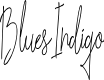 Preview image for BluesIndigo Font