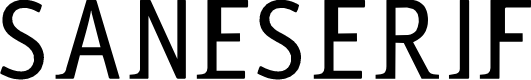 Preview image for saneserif