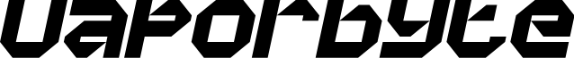 Vaporbyte Phat Italic