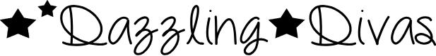 Preview image for DazzlingDivas Font