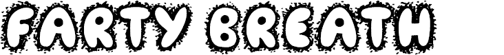 Preview image for Farty Breath Font