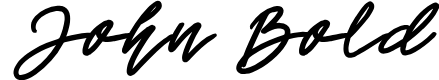 Preview image for John Bold Font