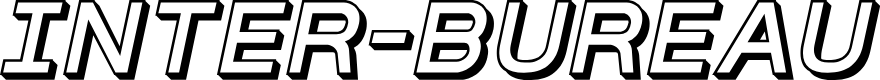 Preview image for Inter-Bureau 3D Italic