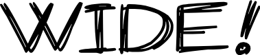 Preview image for Widescratch Font