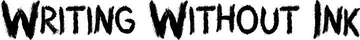 Preview image for Writing Without Ink Font