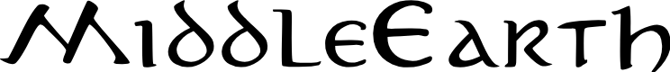 Preview image for MiddleEarth Font