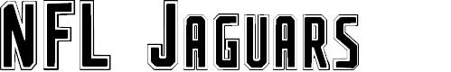 Preview image for NFL Jaguars Font