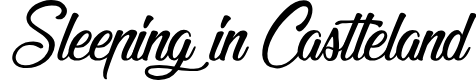 Preview image for Sleeping in Castleland Font