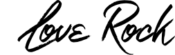 Preview image for Love Rock Font
