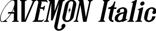 AVEMON Italic