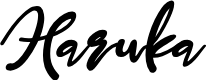 Preview image for Haruka Font