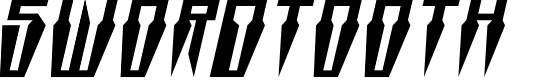 Preview image for Swordtooth Squat Italic