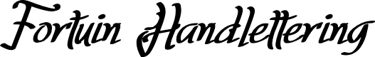Preview image for Fortuin Handlettering