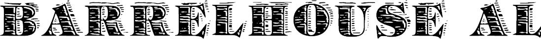 Preview image for Barrelhouse All Caps Font