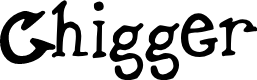 Preview image for Chigger Font