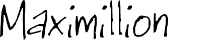 Preview image for Maximillion Font