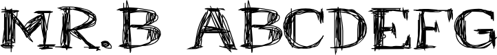 Preview image for Mr.B Font