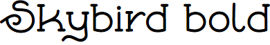 Skybird-Bold