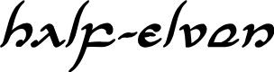 Preview image for Half-Elven Bold Italic Bold Italic