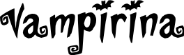 Preview image for Vampirina Font