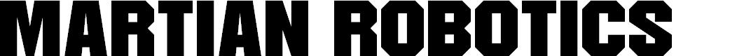 Preview image for Martian Robotics Font