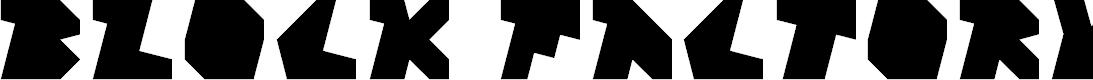 Preview image for Block Factory Regular Font