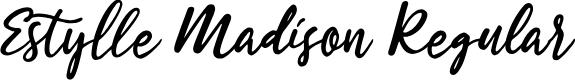 Preview image for Estylle Madison Regular Font