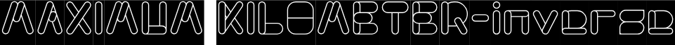 MAXIMUM KILOMETER-inverse