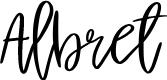Preview image for Albret Font
