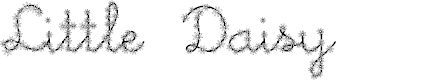 Preview image for Little Daisy Font