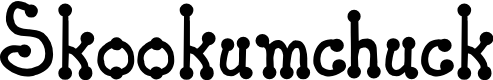 Preview image for JI Skookumchuck Font