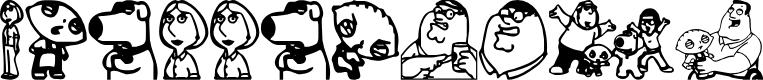 Preview image for Griffinbats Font