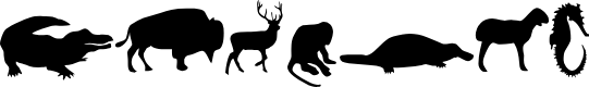 Preview image for Animals Font