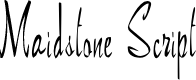 Preview image for Maidstone (Plain):001.001 Font