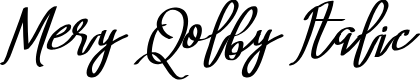 Preview image for Mery Qolby Italic
