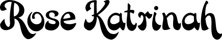 Preview image for Rose Katrinah Font