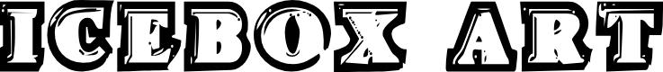 Preview image for Icebox Art Regular Font