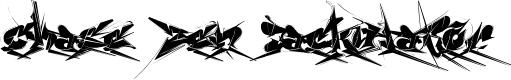 Preview image for Chase Zen Jackulator  Font