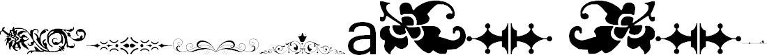 Preview image for Vintage Decorative Signs 10 Font