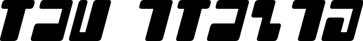 Preview image for Tau Italic