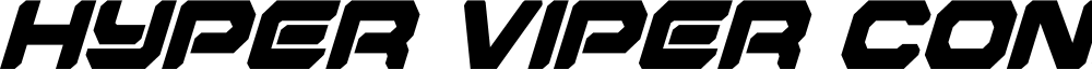 Hyper Viper Condensed Italic