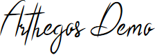 Preview image for Arthegos Demo Font