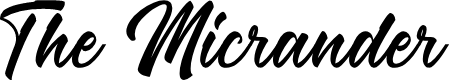 Preview image for The Micrander Font