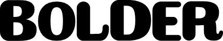 Preview image for BOLDER Font