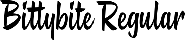 Preview image for Bittybite Regular Font