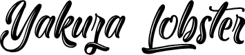 Preview image for Yakuza Lobster Font