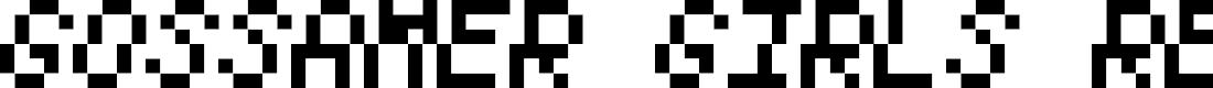 Preview image for Gossamer Girls Regular Font