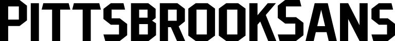 Preview image for PittsbrookSans Font